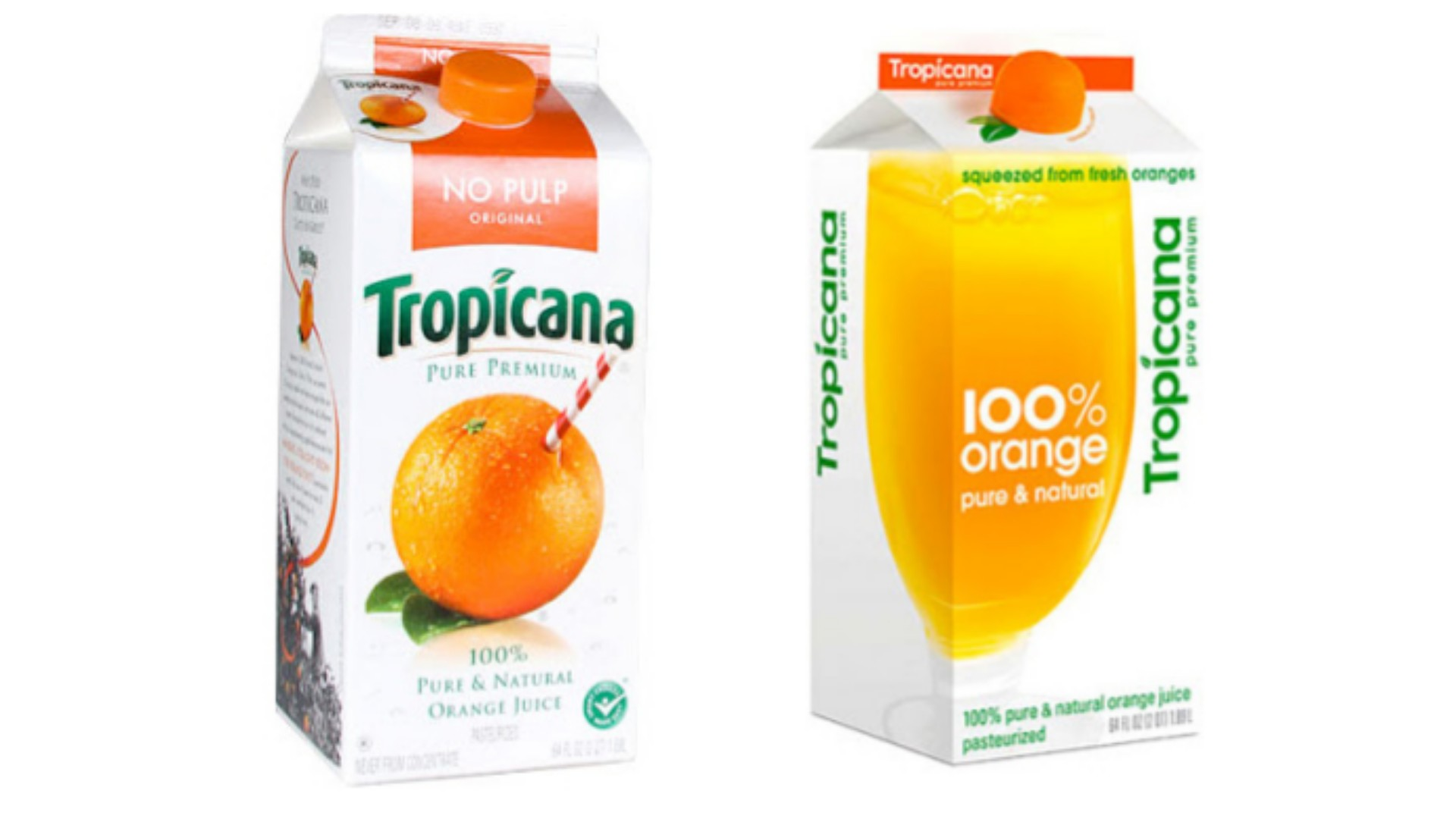 Tropicana Packaging Design
