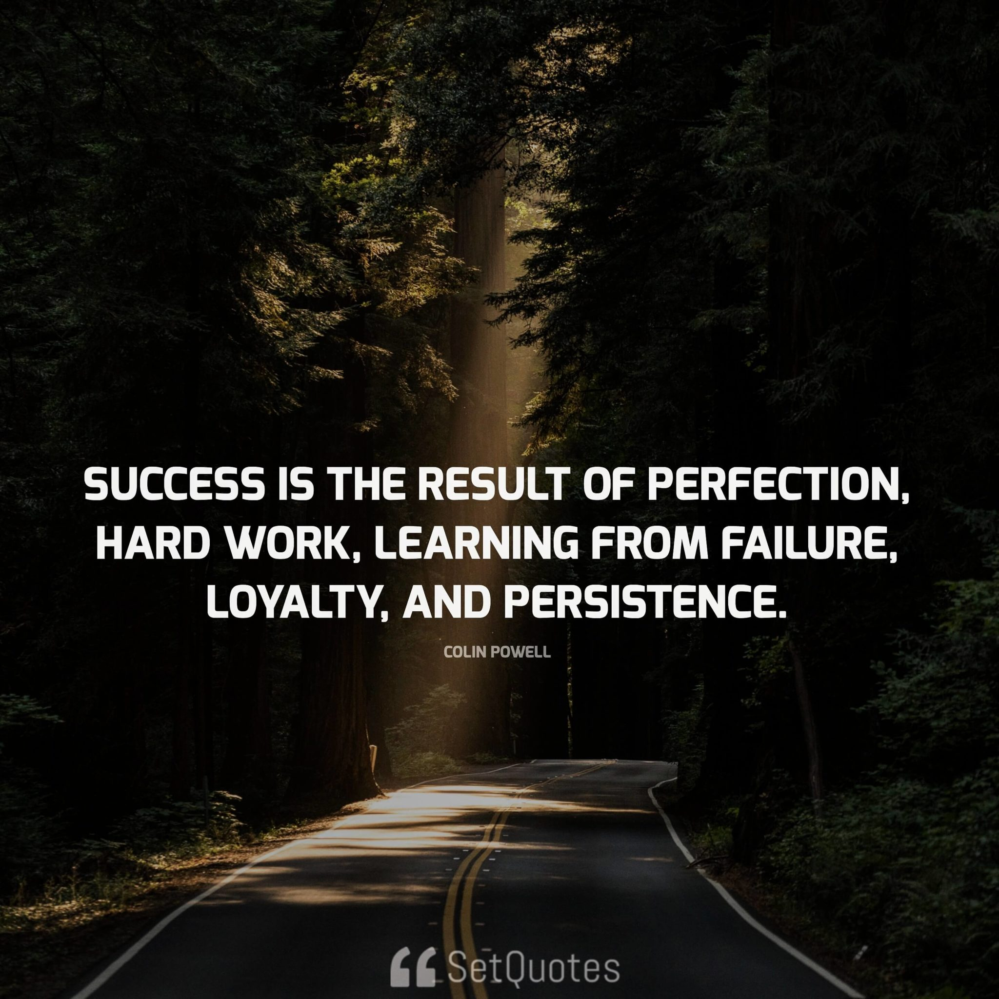 """success comes from perseverance and hard work Perseverance, hard work, kindness, drive, creativity and more will help you  succeed here are some motivational quotes to inspire you for success at work   """"there comes a time when you ought to start doing what you want take a job  that."""